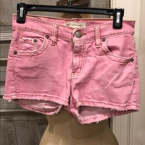 Pants - mf brand denim pink shorts